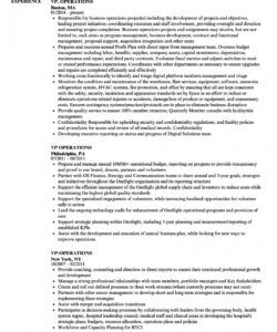 vp operations resume samples  velvet jobs vice president of operations job description template doc