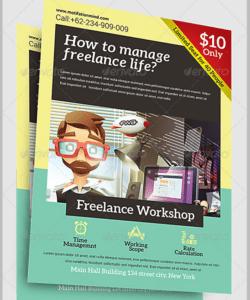 15 workshop flyer designs & templates  psd ai word eps parent workshop flyer template and sample