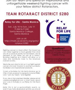 710 relay for life  rotaract west la relay for life fundraiser flyer template doc