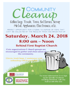 clean up day • crystal springs • mississippi neighborhood cleanup flyer template pdf