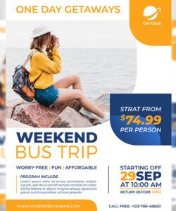 free bus trip flyer template by owpictures on dribbble bus ride flyer template and sample