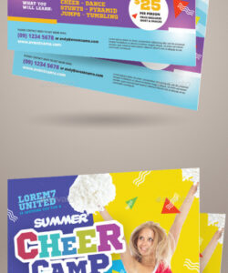 free cheer camp flyer templates dance camp flyer template doc
