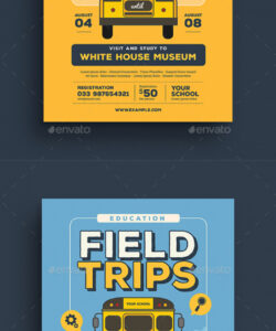 free excursion flyer stationery and design templates bus ride flyer template