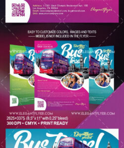 free free bus travel flyer template bus ride flyer template pdf