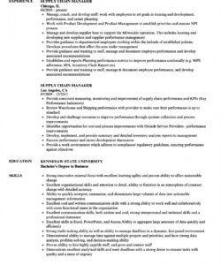 supply chain manager resume samples  velvet jobs logistics manager job description template doc