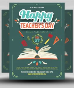 teacher's day flyer template  flyerheroes teacher appreciation flyer template and sample