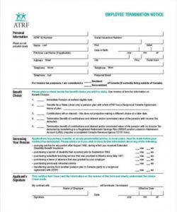Best Employee Termination Checklist Template  Example