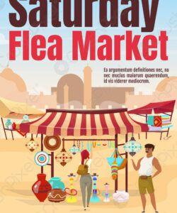 Best Flea Market Flyer Template Word Example