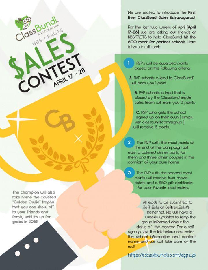 Best Sales Contest Flyer Template Pdf