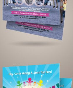 Editable Family Day Flyer Template  Example