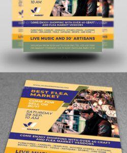 Free Flea Market Flyer Template Pdf