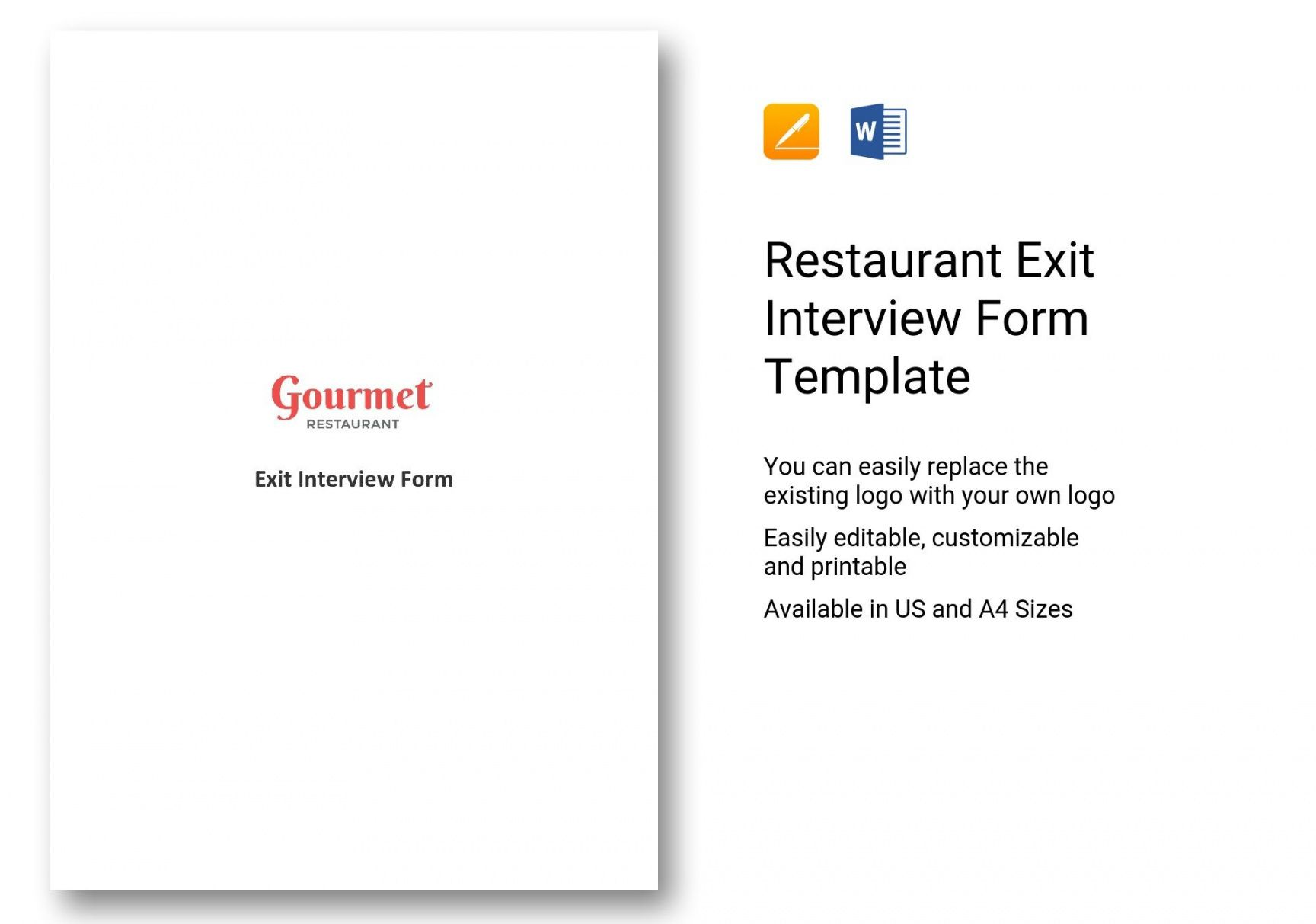 Professional Exit Interview Checklist Template Pdf Sample