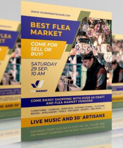 Professional Flea Market Flyer Template Pdf Example