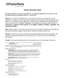 Best General Laborer Job Description Template Word