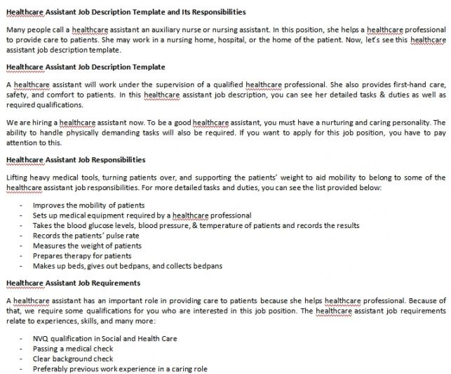 Free Nursery Manager Job Description Template Pdf Example