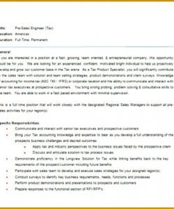 Marketing Manager Job Description Template  Sample