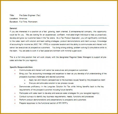 Marketing Manager Job Description Template  Sample