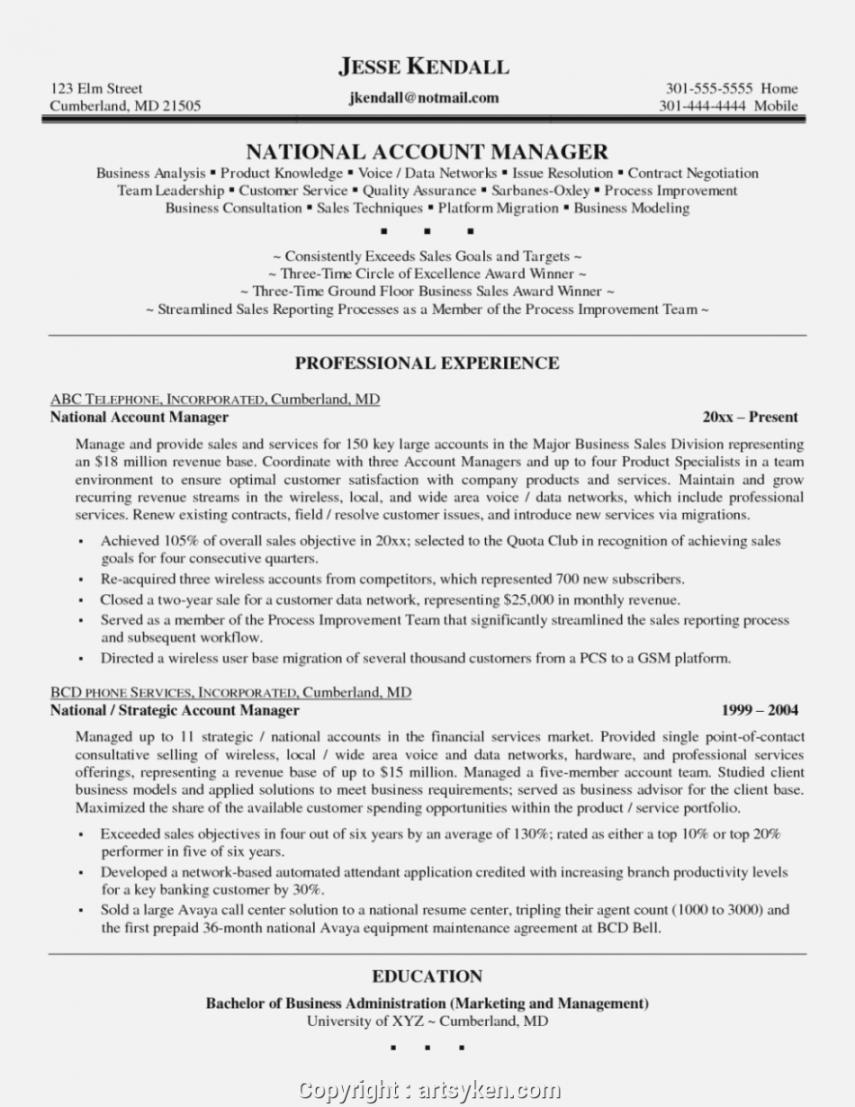 Best Account Manager Job Description Template Word Sample