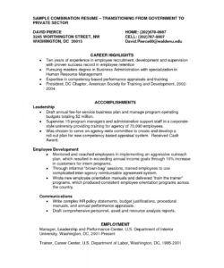 Best Competency Based Job Description Template  Sample