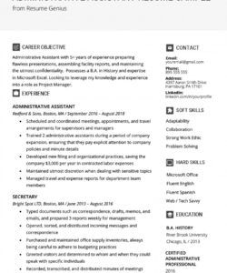 Best Executive Administrative Assistant Job Description Template Pdf Example
