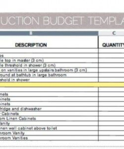 Best Office Renovation Budget Template Doc Example
