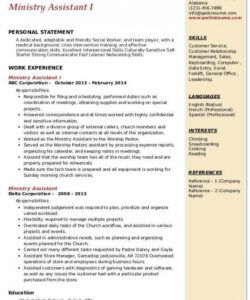 Best Youth Pastor Job Description Template Word Example
