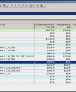 Costum Library Operating Budget Template Word Sample