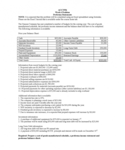 Costum Six Month Operating Budget Template  Sample