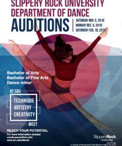 Dance Audition Flyer Template Doc