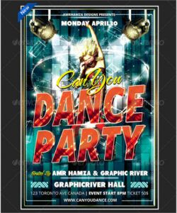 Dance Audition Flyer Template Doc Example