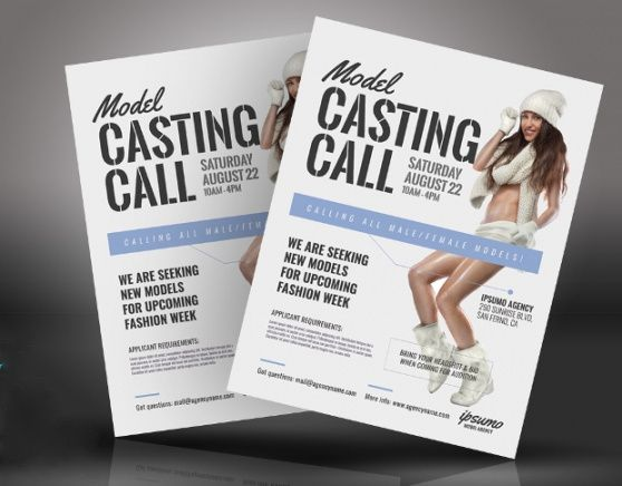 Editable Dance Audition Flyer Template Pdf Example
