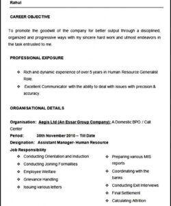 Editable Human Resources Assistant Job Description Template Word Sample