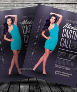 Free Dance Audition Flyer Template Pdf Example