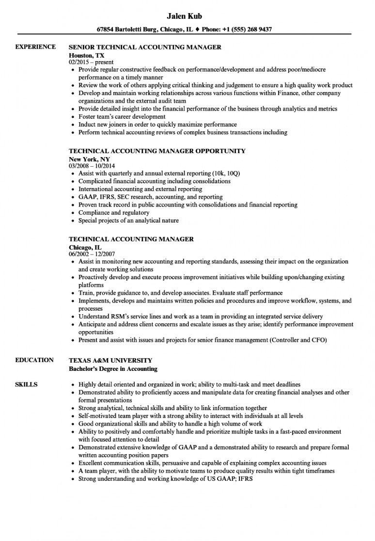 Free Financial Accountant Job Description Template Excel Sample