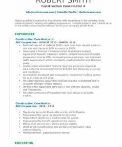 Free Program Coordinator Job Description Template Doc Example