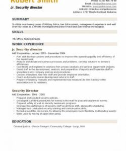 Free Safety Director Job Description Template Word Sample