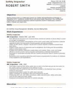Free Safety Manager Job Description Template Word Example