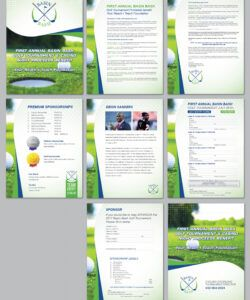 Free Sponsorship Flyer Template Doc Example