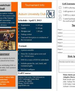 Free Sponsorship Flyer Template Excel Sample