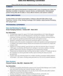Marketing Assistant Job Description Template Word Sample