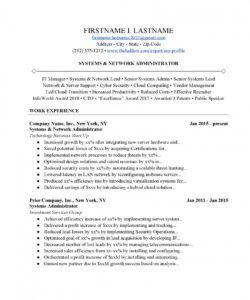 Network Administrator Job Description Template  Sample