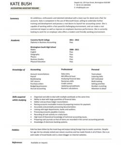 Printable Financial Accountant Job Description Template Doc Example