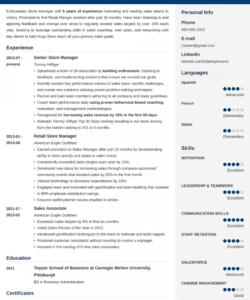 Printable Shop Manager Job Description Template Pdf