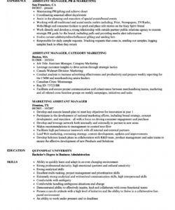 Professional Marketing Assistant Job Description Template Pdf