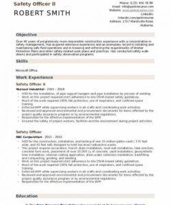 Safety Manager Job Description Template Doc Sample