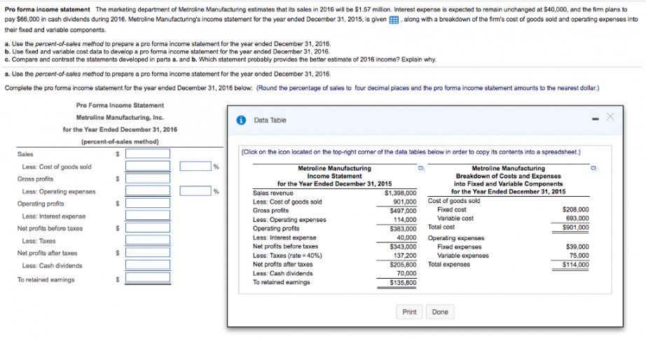 Six Month Operating Budget Template Doc Sample