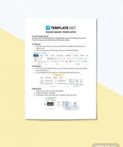 Trainee Job Description Template Doc Sample