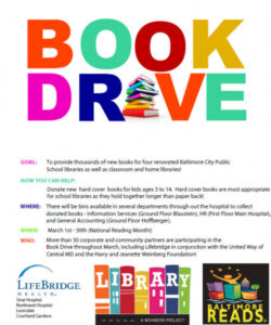 Best Book Donation Flyer Template  Example