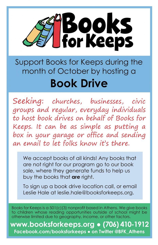 Best Book Donation Flyer Template Pdf Sample