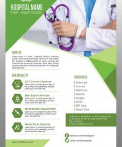 Best Health Care Flyer Template Excel Sample